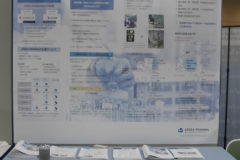 Spera Pharma exhibited a company's booth at The 35th Medicinal Chemistry Symposium